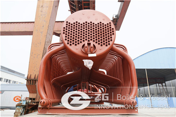 Biomass water fire tube boiler