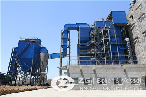 35 ton Straw biomass power generation boiler