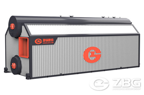 6 ton chain grate biomass boiler for food factory