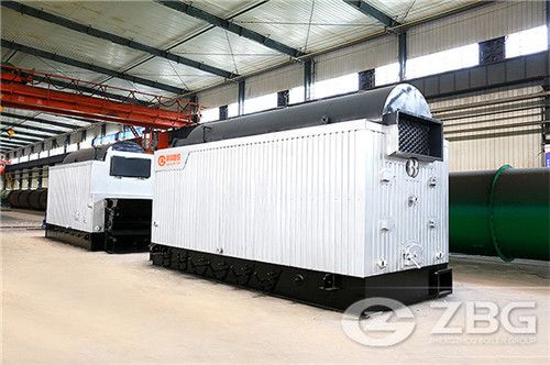 Biomass boiler for textile industries