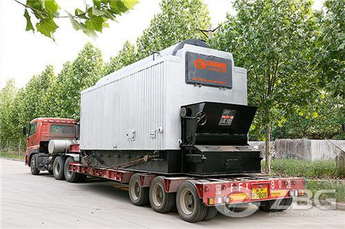 2-10 ton Biomass olive husk fired steam boiler